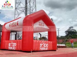 tenda inflável promocional sócio tigrão