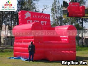 poltrona inflavel gigante promocional le home outlet