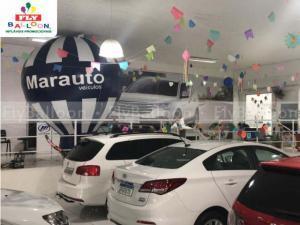 balão inflável promocional MARAUTO VEÍCULOS