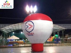 balão inflável promocional cultura inglesa em Volta Redonda - RJ