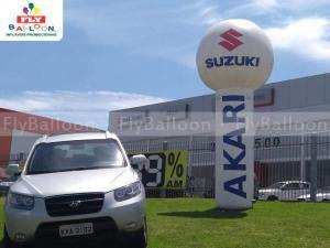 balão inflável promocional suzuki akari em Volta Redonda - RJ