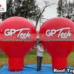 balões infláveis promocionais gp tech