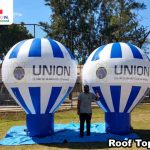 baloes inflaveis promocionais union clube de beneficios do brasil