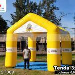 tenda inflável personalizada secretaria de saúde de araruama