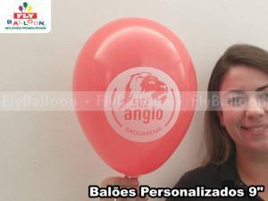 Balões personalizados em Trajano de Morais