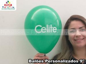 Balão personalizado em Presidente Figueiredo