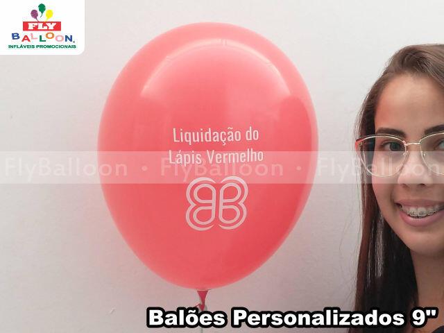 balões personalizados liquidação do lápis vermelho shoppings multiplan