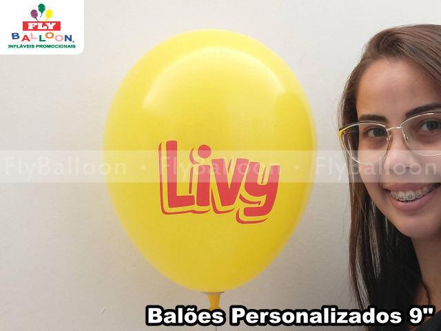 baloes personalizados livy