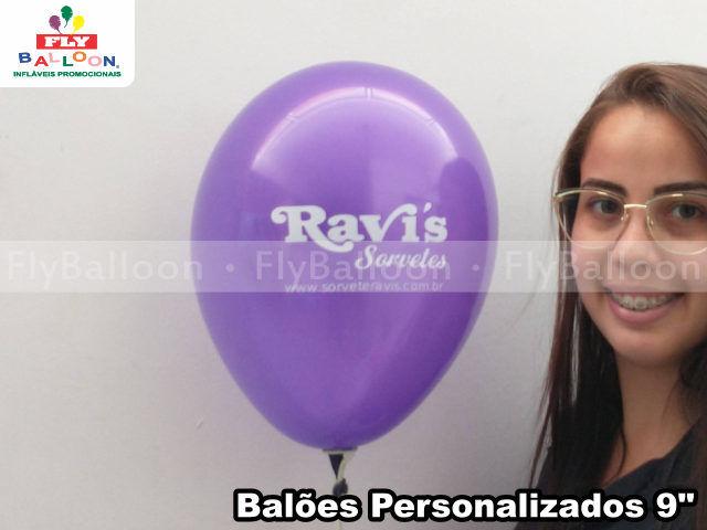 baloes personalizados ravis sorvetes