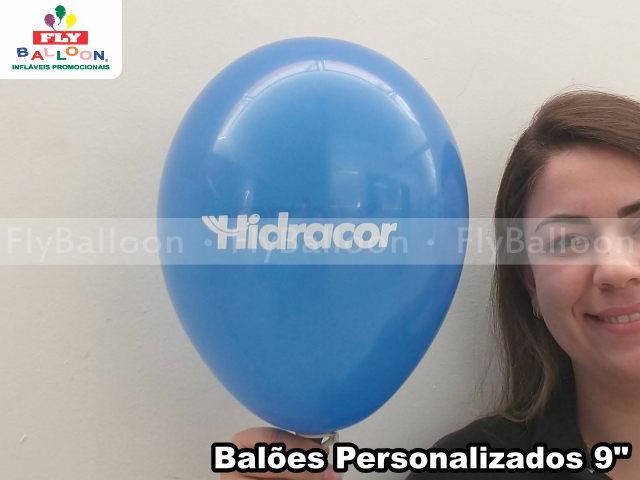 baloes personalizados tintas hidracor