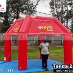 tenda inflável promocional drogarias ultra popular
