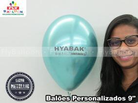 baloes personalizados metallic hyabak