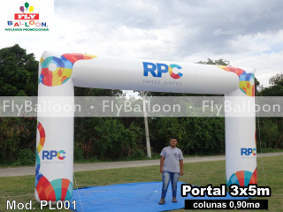 portal inflavel promocional RPC