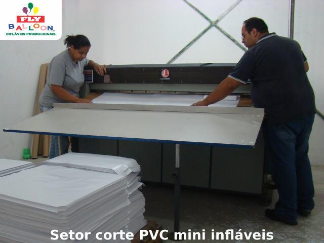 setor corte pvc mini infláveis