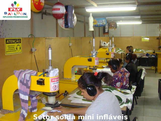 setor solda mini infláveis