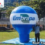 balão inflável promocional embrapa