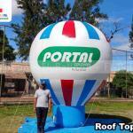 balão inflável promocional portal colchões