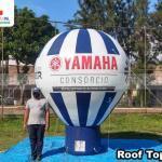 balão inflável promocional yamaha consórcio