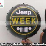 balões metalizados personalizados jeep week