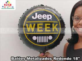 baloes metalizados -personalizados jeep week