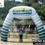 portal inflável promocional agroam
