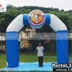 portal inflável promocional mano vey combustíveis