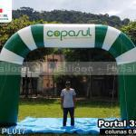 pórtico inflável promocional copasul