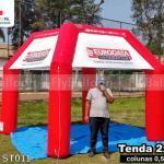 tenda inflável promocional eurodata interativa cursos profissionalizantes
