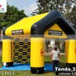 tenda inflável promocional soluflex ferramentas