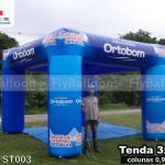 stand inflável promocional colchões ortobom
