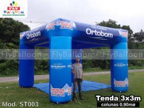 tenda inflavel promocional colchoes ortobom
