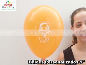 Balão personalizado em Natal