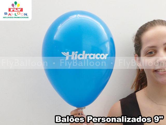 balões personalizados hidracor
