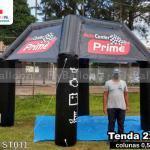 stand inflável promocional auto center prime