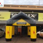 stand inflável promocional personalizada soluflex