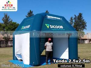 Tenda inflável em Mauá