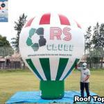 balao inflavel roof top promocional rs clube protecao veicular