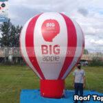 balão inflável promocional big apple aromatizantes