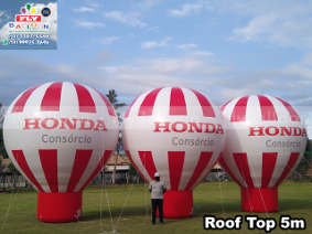 balões promocionais consórcio honda