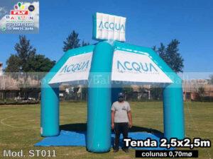 Tendas infláveis em Jaguariúna