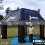 tenda inflável promocional planalto autocenter