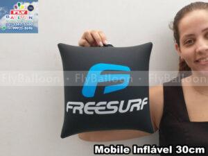 móbile inflável promocional freesurf