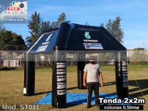 Tenda inflável em Japeri