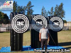 totens infláveis promocionais personalizados DNZ óticas