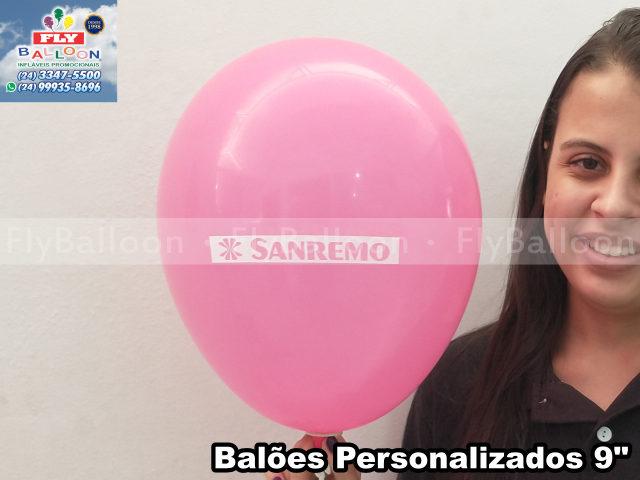 balões personalizados sanremo