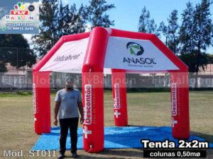 Tendas infláveis em São José dos Campos