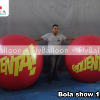 bola show inflavel promocional programa esquenta